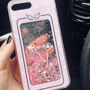 ⚠️FINAL PRICE Pink Liquid iPhone 8 + PLUS Case